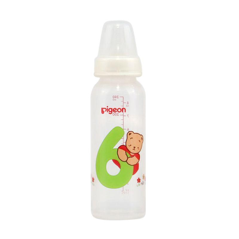 Pigeon Botol PP RP Coro Angka 6 W/S-Type PR010382 Nipple [240 mL]