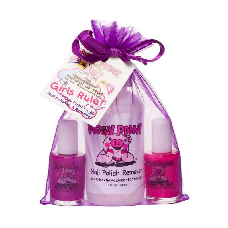 Piggy Paint Girls Rule! Pack - Kutek Anak