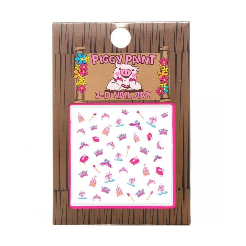 Piggy Paint Sticker Princess