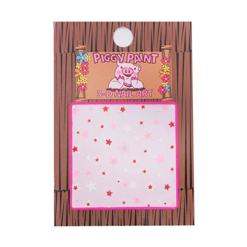 Piggy Paint Sticker Stars