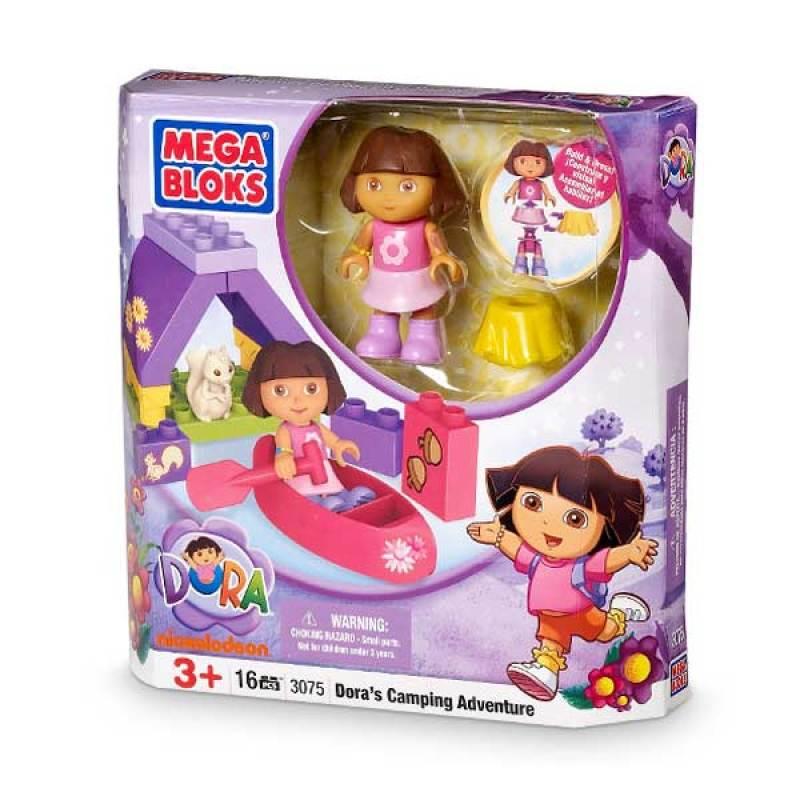 Mega Bloks Dora's Camping Adventure (3073)