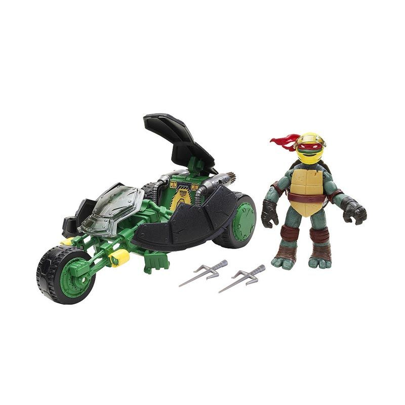 Playmates Teenage Mutant Ninja Turtles Vehicle with Figure - Ninja Stealth Bike