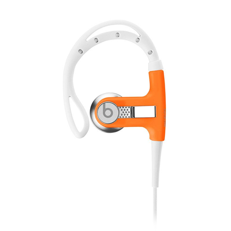 Beats Powerbeats Neon Orange Earphone
