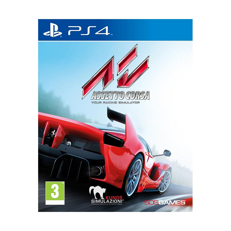 Sony PS4 Asseto Corsa DVD Game