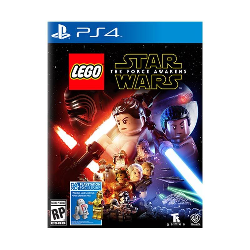 Sony PlayStation 4 Lego Starwars The Force Awakens DVD Game