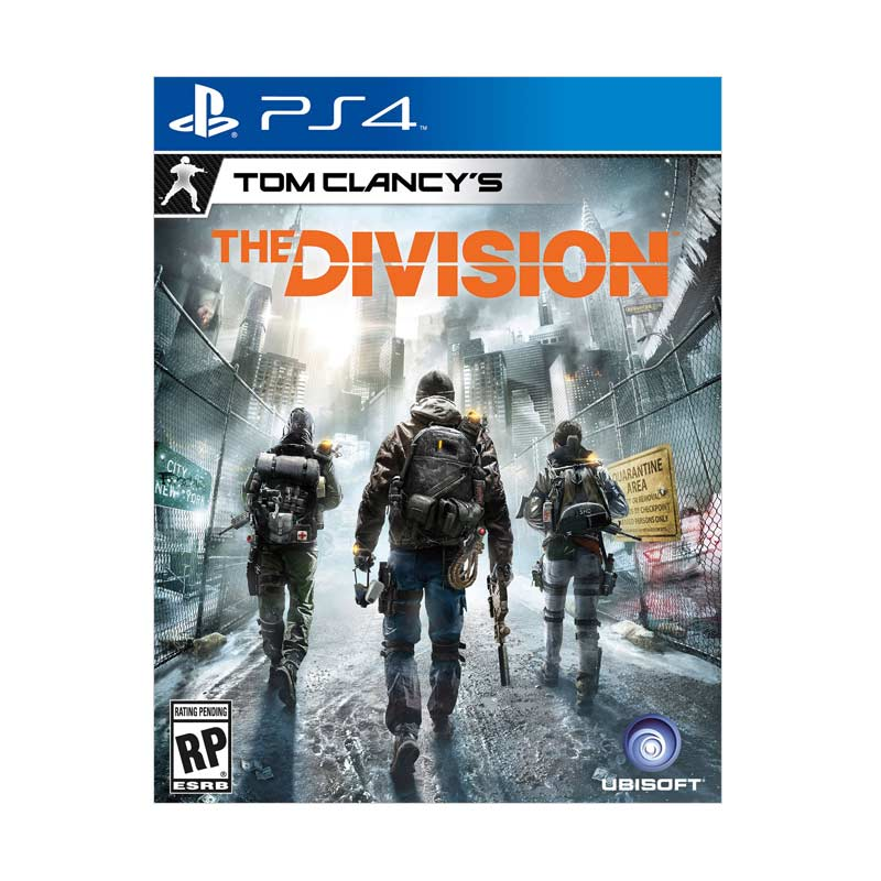 Sony PS4 Tom Clany's The Division DVD Game