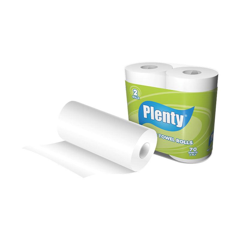 Plenty Kitchen Towel Rolls Macro Diamond PLKT-001 Tissue [2 Rolls/2 Ply]