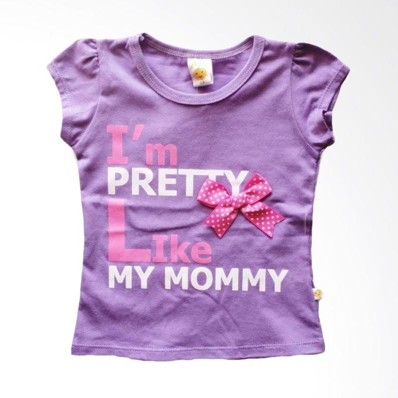Pleu Blus Pretty-Mommy Purple