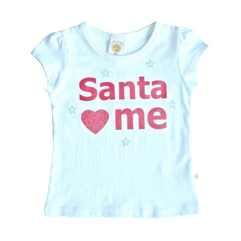 PLEU Blus Santa White Atasan Anak