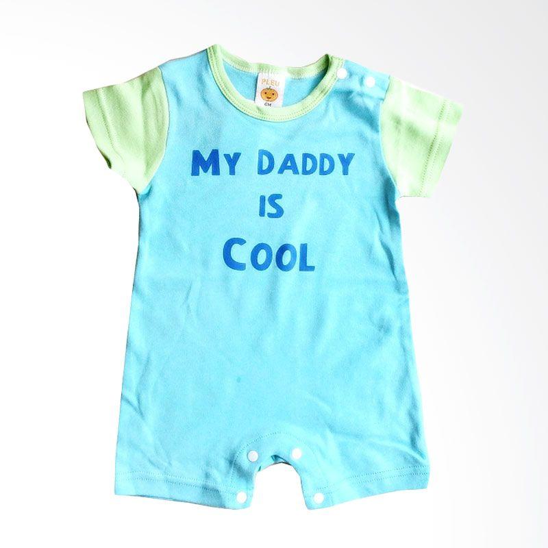 PLEU K Daddy Cool Blue Jumpsuit Anak Laki-Laki