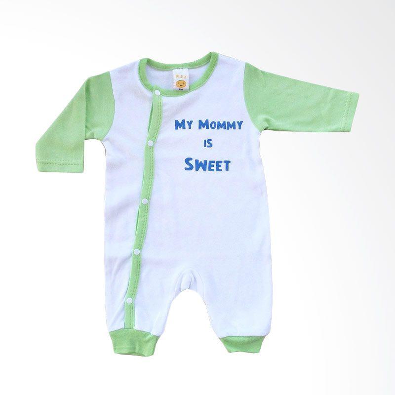 PLEU KJ Mommy Sweet Green Jumpsuit Anak Laki-Laki