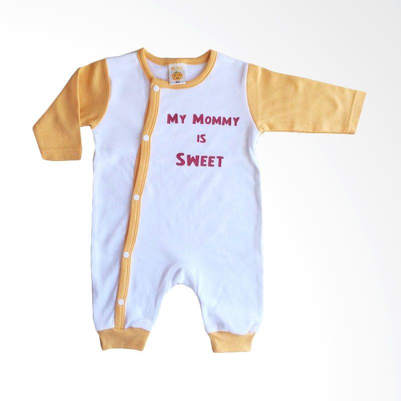PLEU KJ-Mommy Sweet Orange Jumpsuit