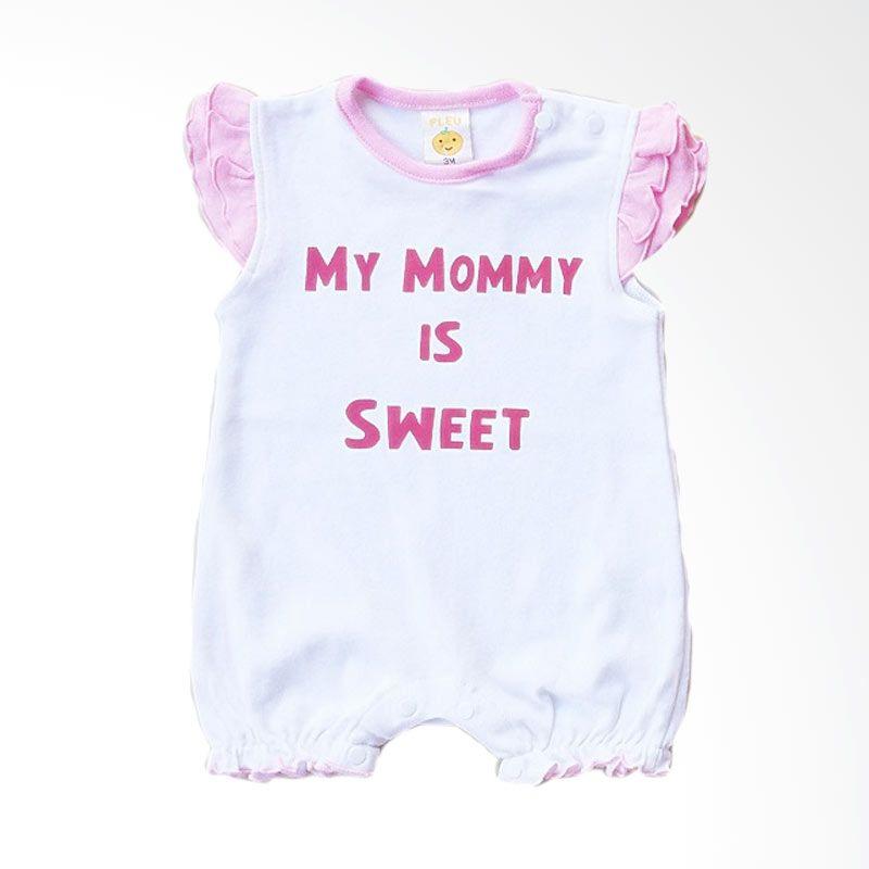 PLEU K-Mommy Sweet White Jumpsuit