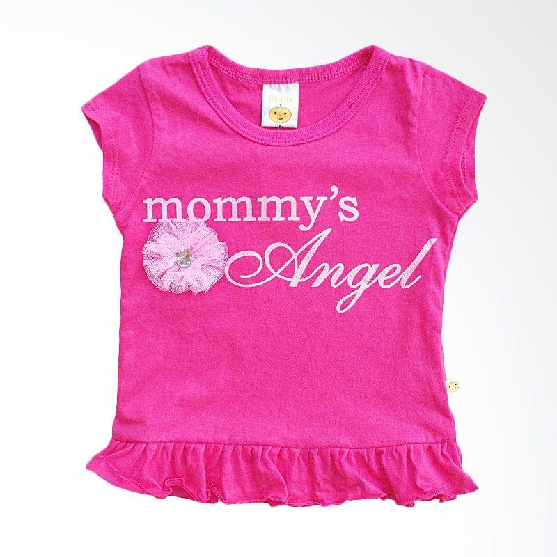 PLEU Mommy's Angel Fuschia Baju Anak Perempuan