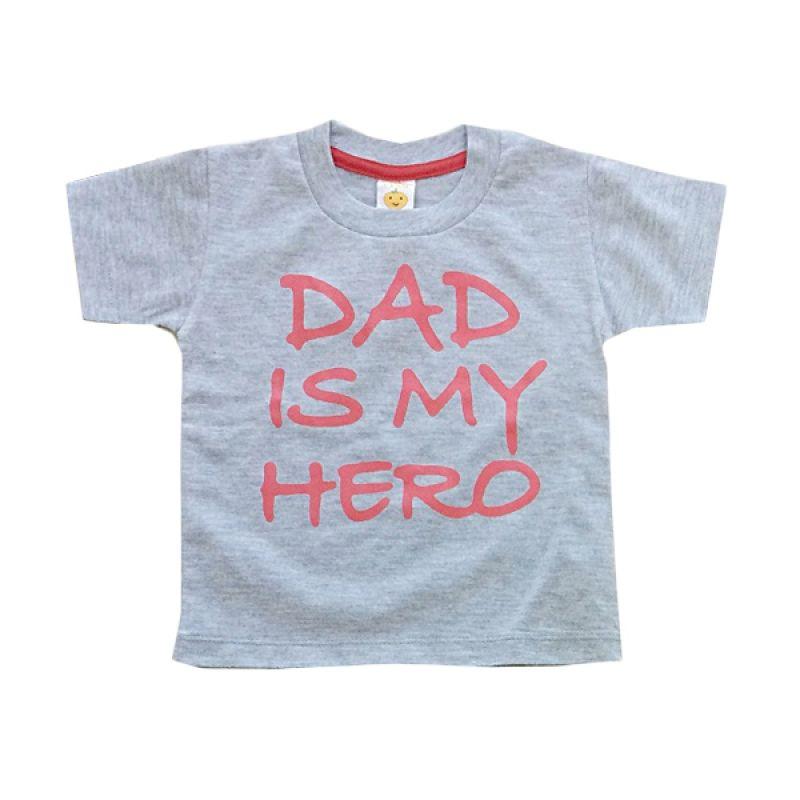 Pleu TS-Dad Hero Grey Atasan Anak