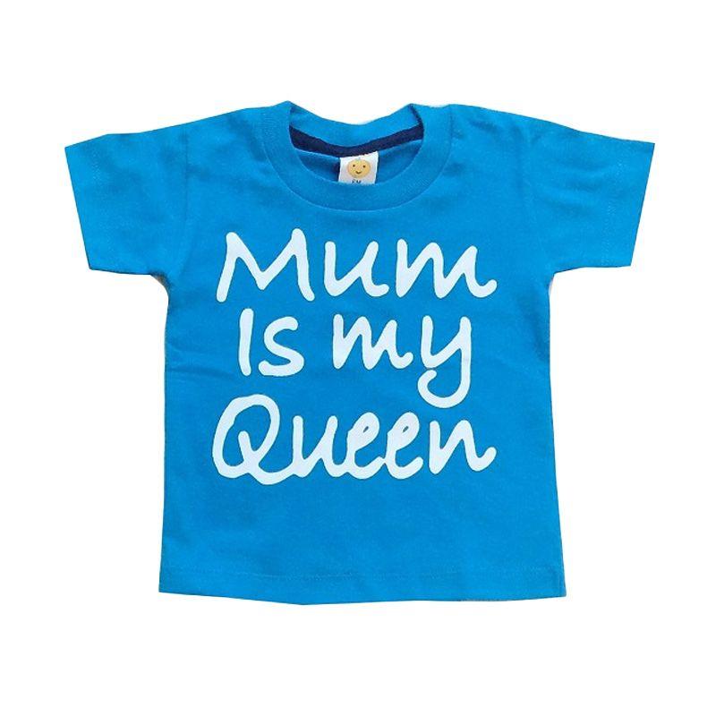 Pleu TS-Mum Queen Blue Atasan Anak