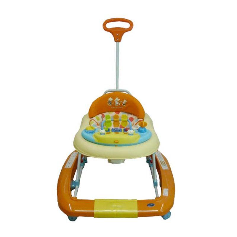 Pliko 3188 T Beige Orange Baby Walker