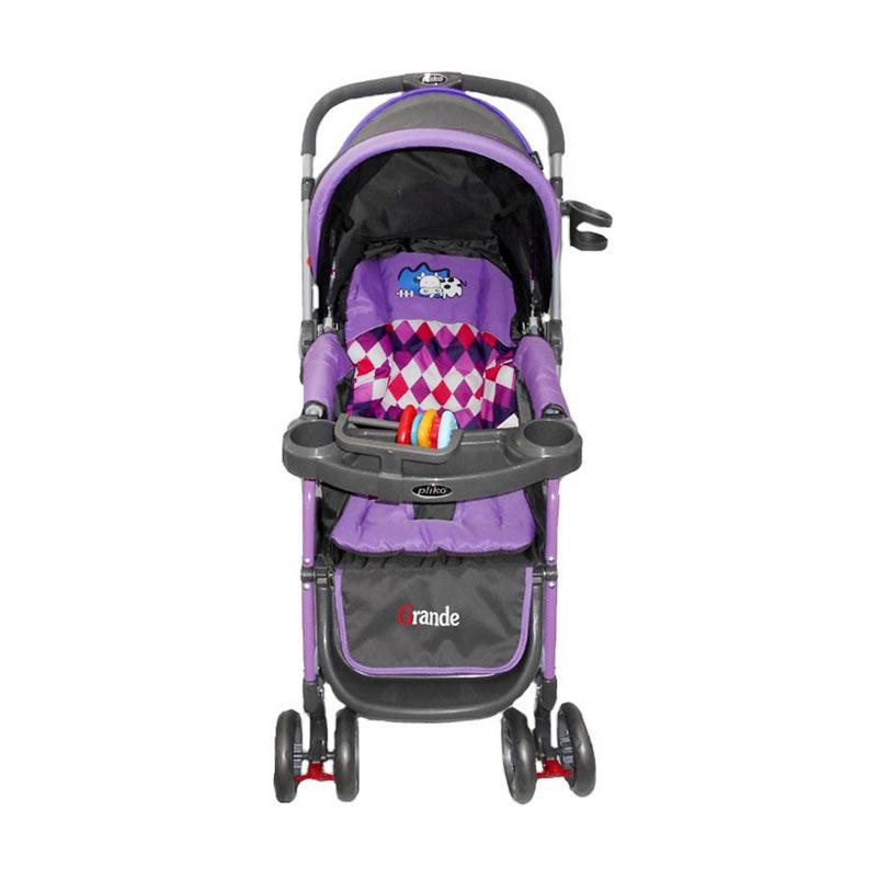 harga Rekomendasi Seller - Pliko PK268 Grande Stroller Kereta Dorong Bayi - Violet Blibli.com