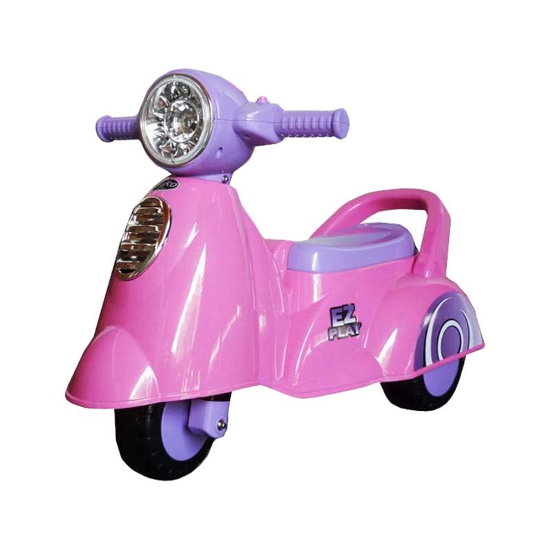 Pliko Ride On Scoopy Mainan Anak - Pink
