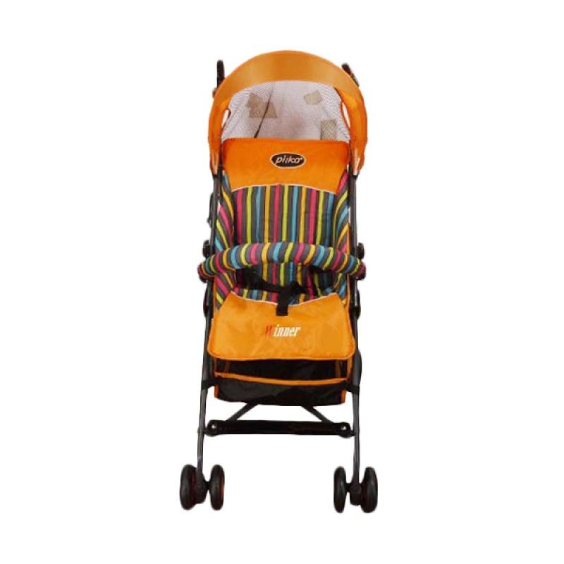 Jual Pliko Stroller Buggy Winner Orange Kereta Dorong Bayi Online - Harga & Kualitas Terjamin
