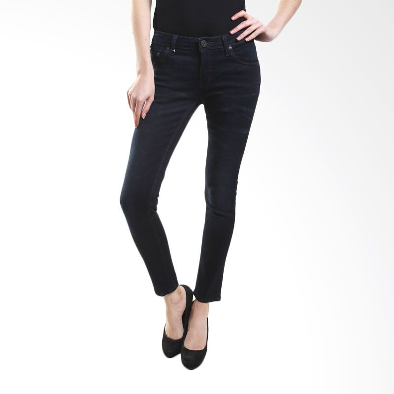 Point One Alessa Second Skin 282061 007.01 Blue Skinny Jeans