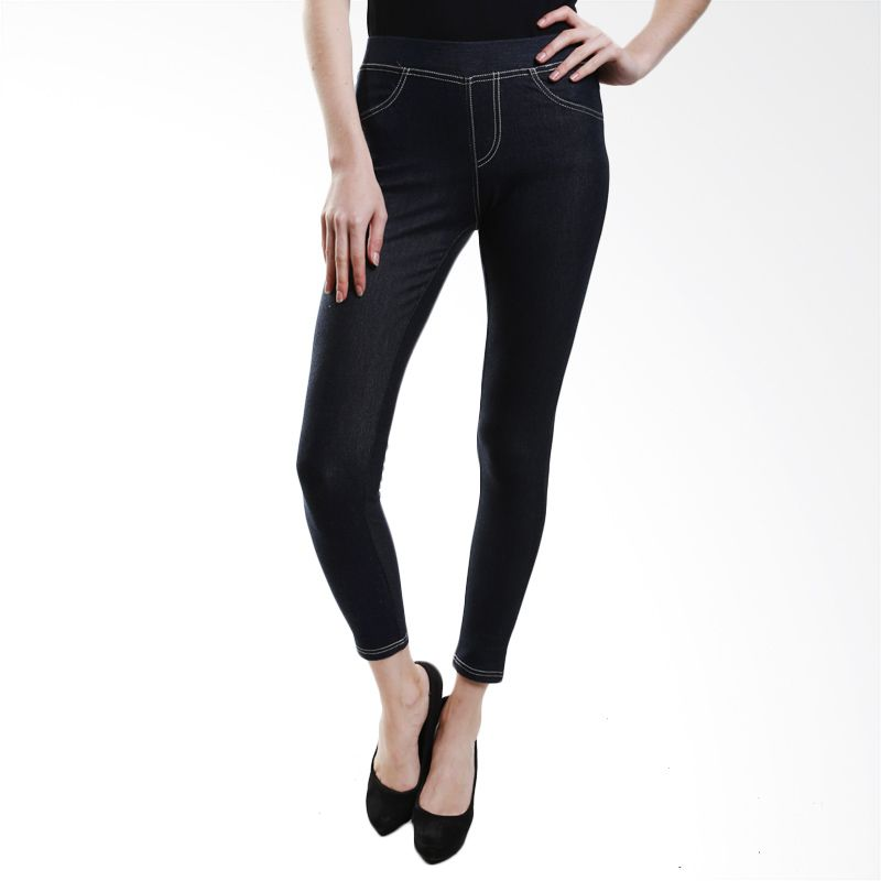 Point One Colorful With Pocket 193461 021.02 Navy Legging