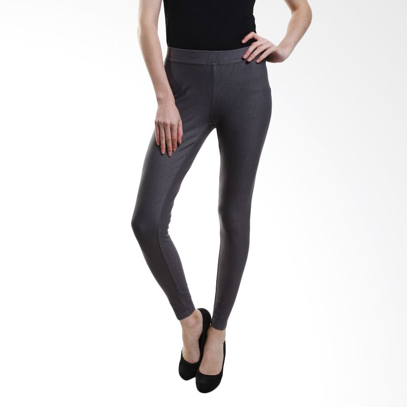 Point One Colorful Without Pocket 191561 010.02 Grey Legging
