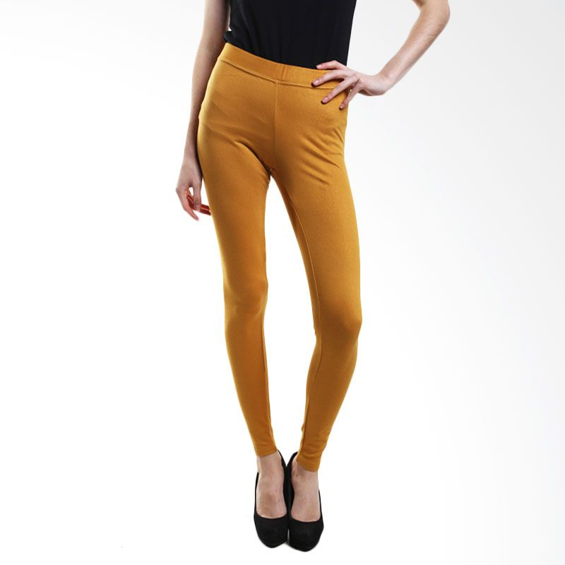Point One Colorful Without Pocket 191661 005.02 Yellow Legging