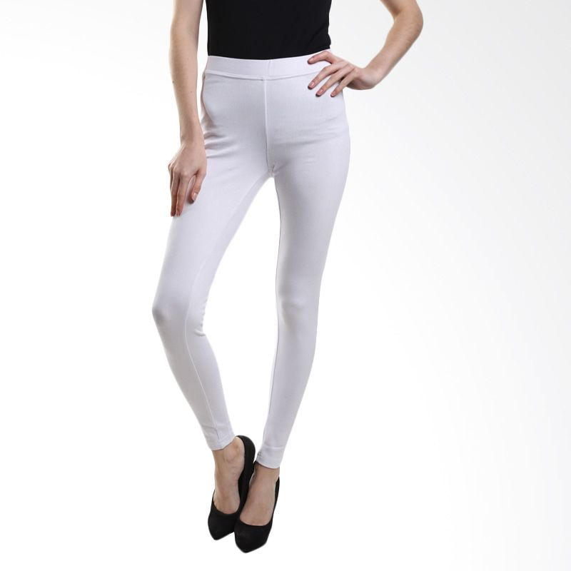 Point One Colorful Without Pocket 192361 001.00 White Legging