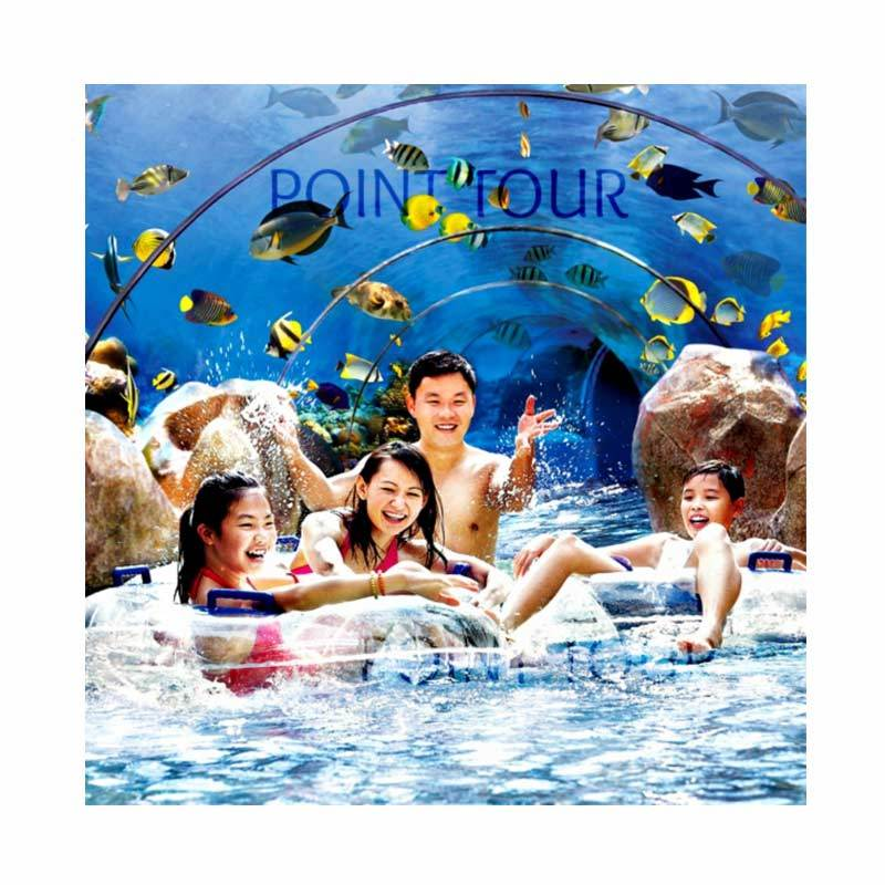 Point Tour - Adventure Cove Waterpark Physic Ticket Child