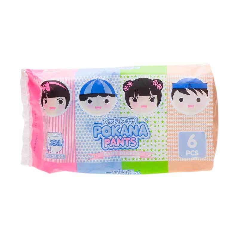 Pokana Baby Diapers Pants XXL 6