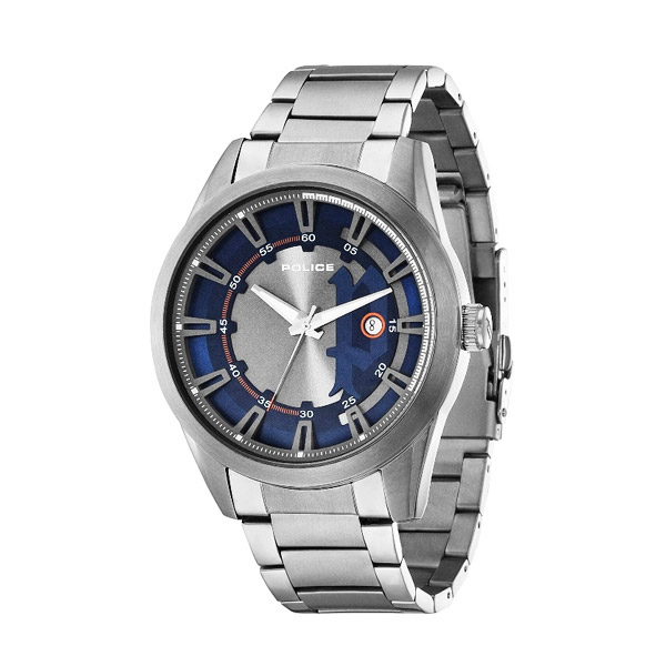 Police Squadron Stainless Band Man Watches PL14380JSU/03M