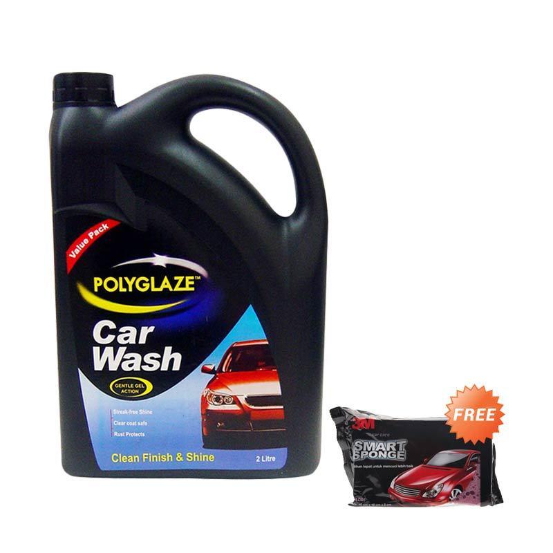Polyglaze Valuepack Car Wash [2 L] + Sponge Mobil