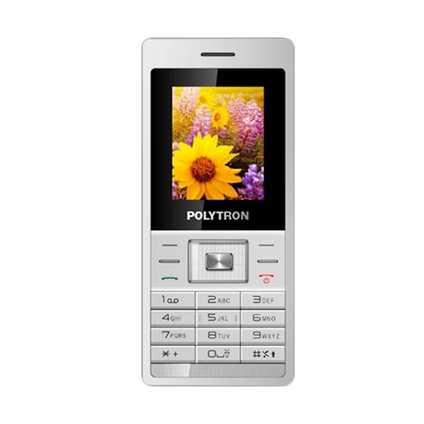 Polytron Candy Bar C203 Handphone - White