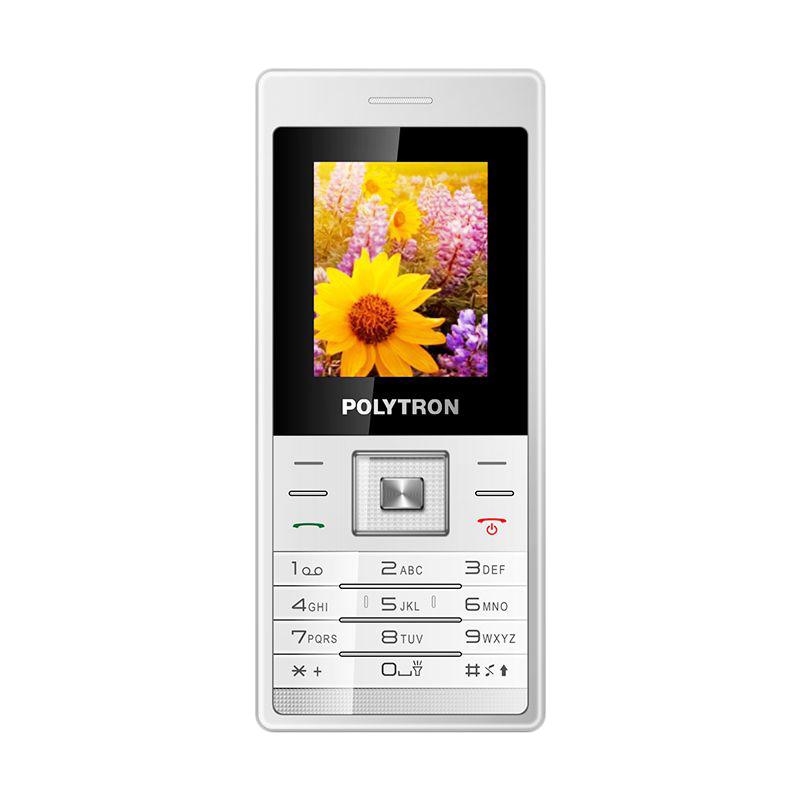Polytron Candybar C204 Putih Handphone