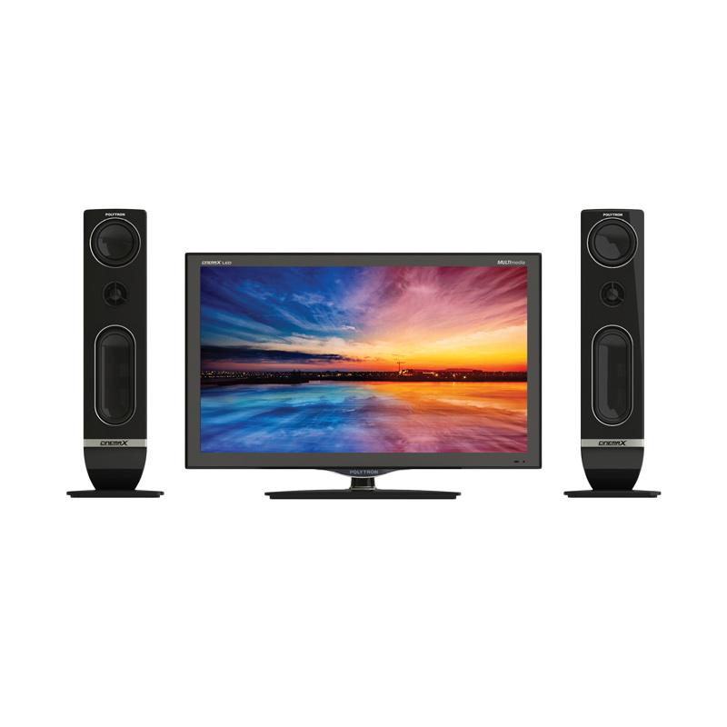 "Polytron LED TV 24"" - 24T810 Extra diskon 7% setiap hari Extra diskon 5% setiap hari Citibank – lebih hemat 10%"