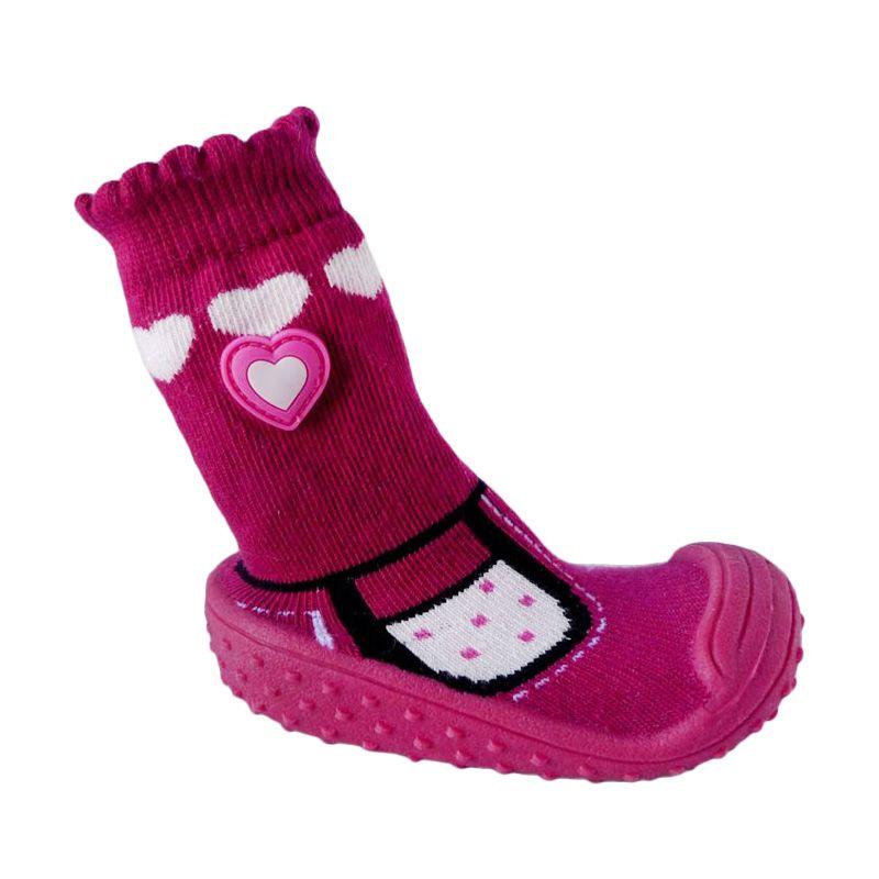 Pom2 Heart Pink Sepatu Bayi