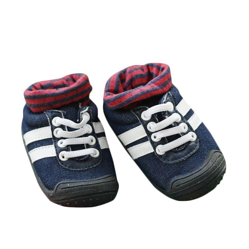 Pom2 Sport Blue Jean...epatu Bayi