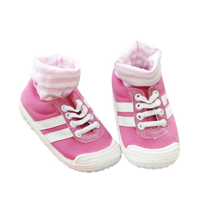 Pom2 Sport Pink Kets Sepatu Bayi