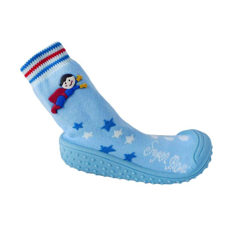 Pom2 Superboy Blue Sepatu Bayi