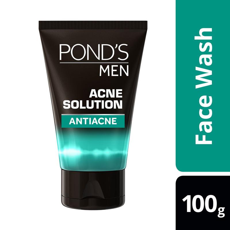 Pond's Men Acne Solution Face Wash [100 g]