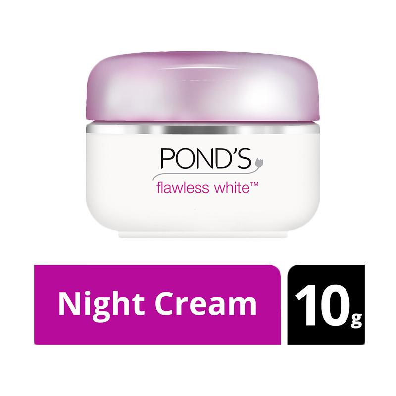 Ponds Flawless White Night Cream 10g