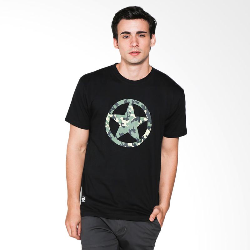 Popculture Camo Logo ST 032 T-shirt Pria - Black Extra diskon 7% setiap hari Extra diskon 5% setiap hari Citibank – lebih hemat 10%