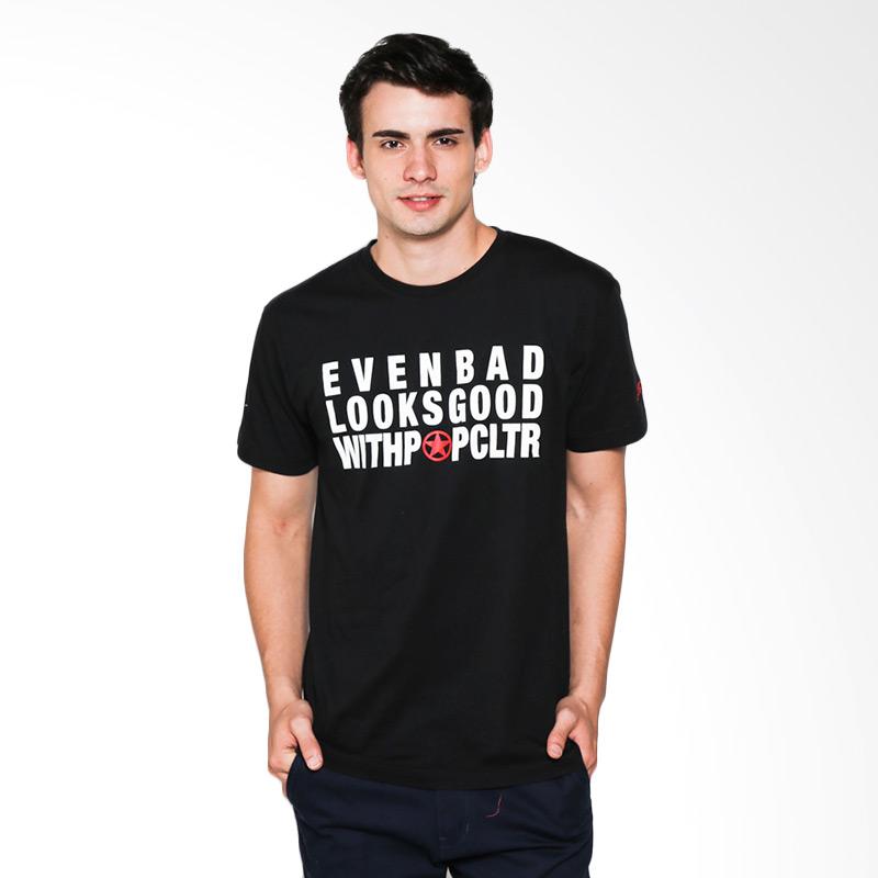 Popculture Even Bad ST 028 T-shirt Pria - Black Extra diskon 7% setiap hari Extra diskon 5% setiap hari Citibank – lebih hemat 10%