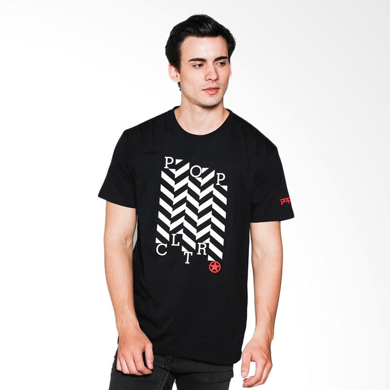 Popculture Zig Zag ST 022 T-shirt Pria - Black Extra diskon 7% setiap hari Extra diskon 5% setiap hari Citibank – lebih hemat 10%