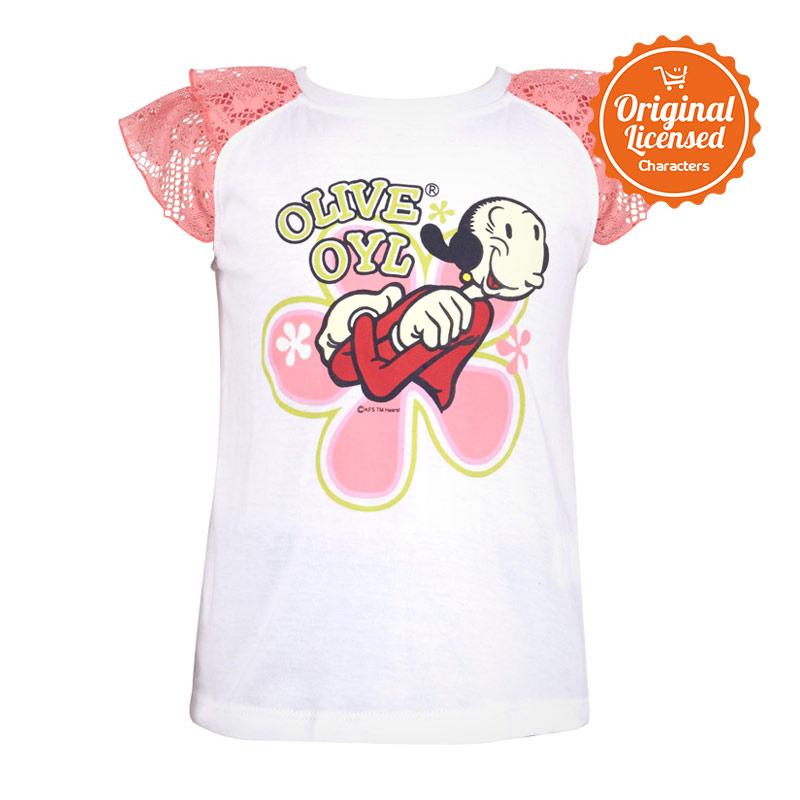 harga Popeye The Sailor Man Olive Oyl Brokat Layer White Atasan Anak Perempuan Blibli.com