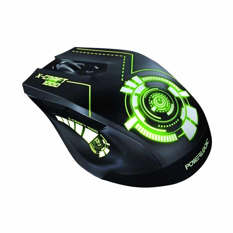 Jual Powerlogic X Craft Trek 1000 Gaming Mouse Online