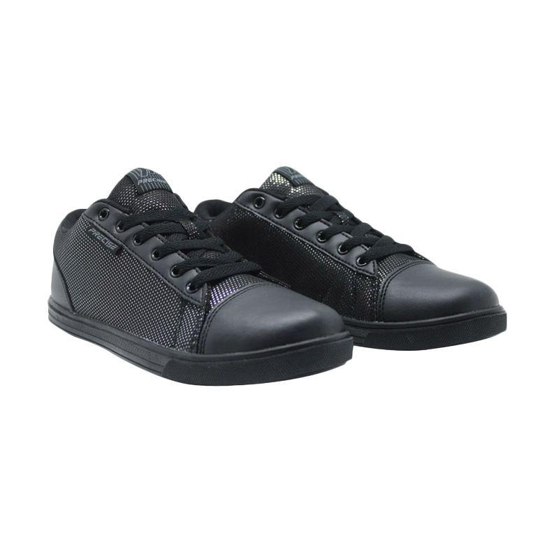 Precise Fronia Hitam Sepatu Remaja Wanita