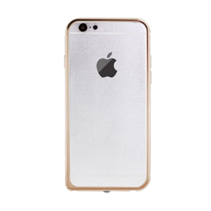 iBacks Bumper Shaped Damascus Edge Gold Casing for iPhone 6
