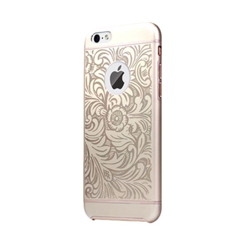 iBacks Premium Aluminium Cameo Series Venezia Champagne Gold Casing for iPhone 6
